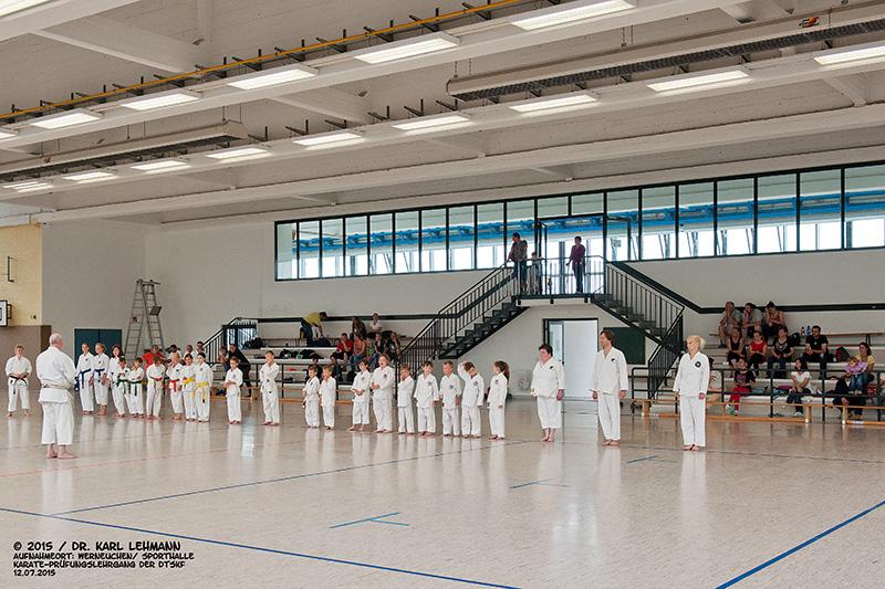 Karate-Prüfungslehrgang der DTSKF